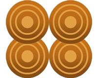 甲賀八幡の古墳群